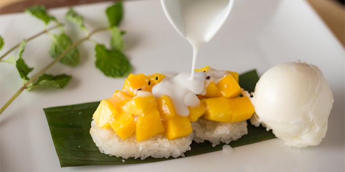 Mango Sticky Rice from Phuket Marriott Resort and Spa, Nai Yang Beach, Phuket, Thailand.