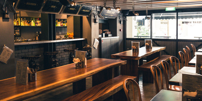 Dining Room of Meat Smith (Telok Ayer) at Telok Ayer in Raffles Place, Singapore