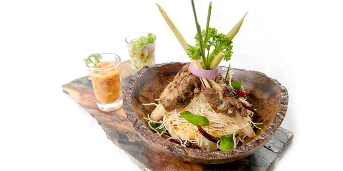 Moo Yaang Takai from Lucky 13 Bar & Grill in Rawai, Phuket, Thailand
