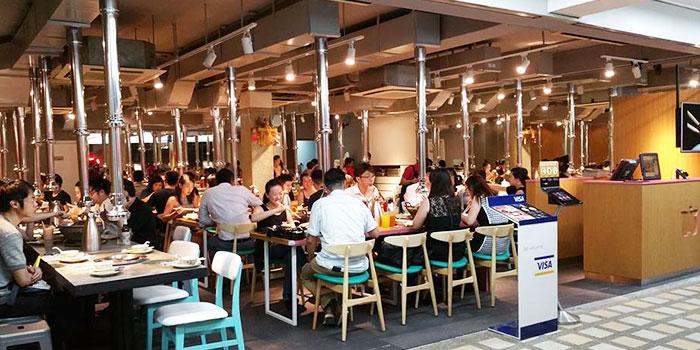 Dining Area of Mookata (Katong) in East Coast, Singapore