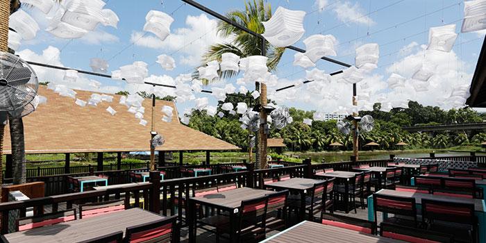 Dining Area of Mookata (Yishun) at ORTO in Yishun, Singapore