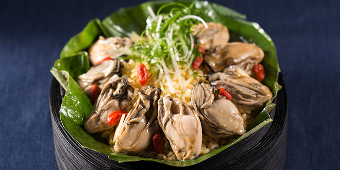 Oyster Ginger Rice, Dragon Noodles Acadamy, Central, Hong Kong