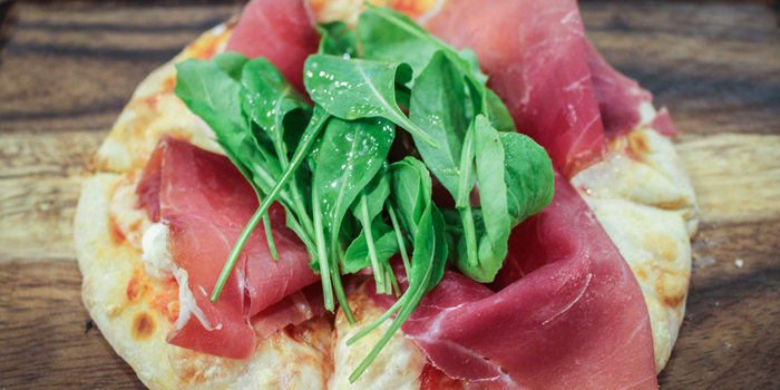 Parma Ham Pizza from Pizza King Sukhumvit 49 in Sukhumvit Soi 49, Bangkok