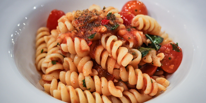 Pasta With Tomato Sauce from Pizza King Thonglor Soi 9 in Thonglor Soi 9, Bangkok