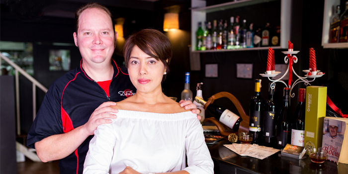 The Owners from DeDos in Cherngtalay Thalang Phuket, Thailand