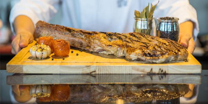 Tomahawk Beef from Phuket Marriott Resort and Spa, Nai Yang Beach, Phuket, Thailand.