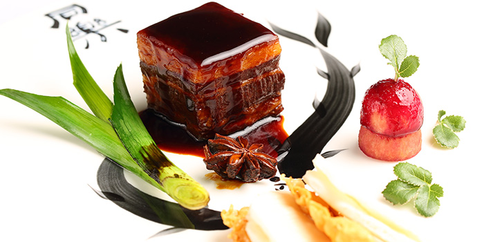 Pork Belly from Tóng Lè Private Dining at OUE Tower in Raffles Place, Singapore