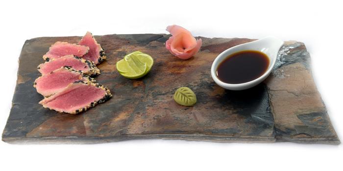 Tuna Sashimi from Lucky 13 Bar & Grill in Rawai, Phuket, Thailand
