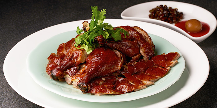 Roasted Irish Duck from TungLok Heen at Hotel Michael in Sentosa, Singapore
