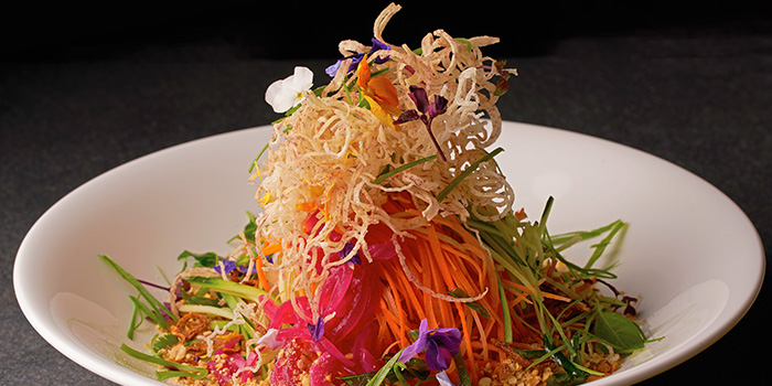 Singapore Slaw from TungLok Heen at Hotel Michael in Sentosa, Singapore
