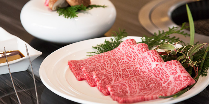 Premium Wagyu from Yakiniku Heijoen in Wisma Atria Shopping Centre in Orchard Road, Singapore