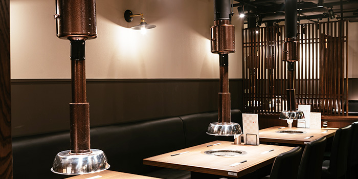 Interior of Yakiniku Heijoen in Wisma Atria Shopping Centre in Orchard Road, Singapore