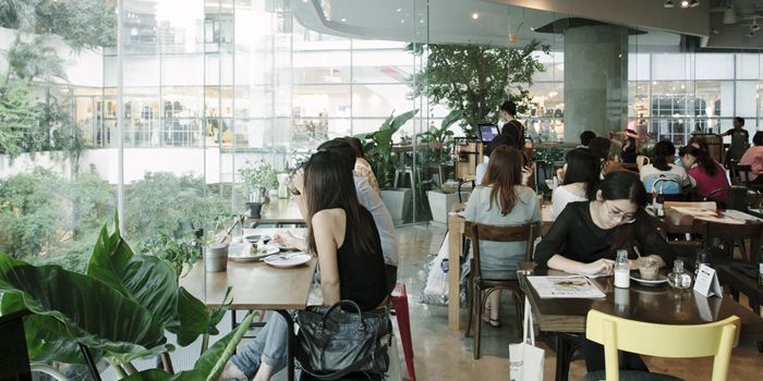 Ambience from Roast at The EmQuartier, Bangkok