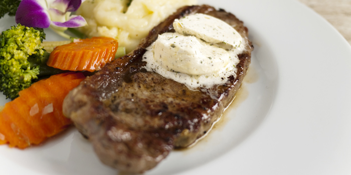 Australian Angus Sirloin Steak from Rendez-Vous Coffee Wine Dine in Talad-Nua, Muang, Phuket, Thailand