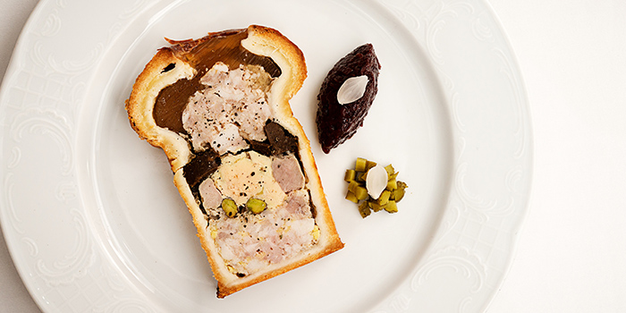 Baked Pork Terrine with Duck Liver from Brasserie Gavroche on Tras Street in Tanjong Pagar, Singapore