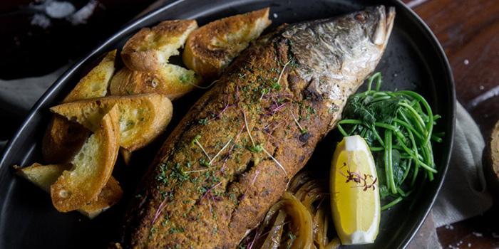 Baked Sea Bass from Wild & Co. in Soi Farmwattana, Bangkok