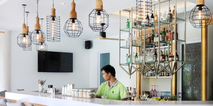Bar of Firefly in Cherngtalay, Thalang, Phuket, Thailand