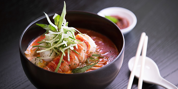 Lobster Laksa from Beach Road Kitchen in JW Marriott Hotel Singapore South Beach in City Hall, Singapore