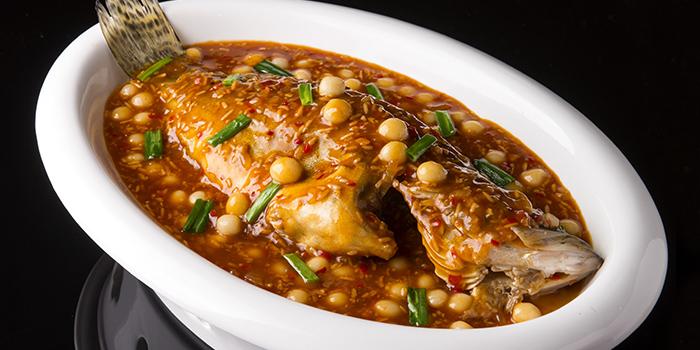 Braised Fish with Rice Wine Sauce, Crystal Jade Jiang Nan, Wan Chai, Hong Kong
