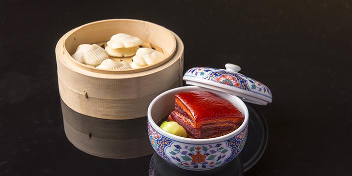 Braised Pork Belly served Lotu Buns, Crystal Jade Jiang Nan, Wan Chai, Hong Kong