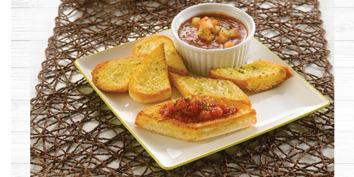 Bruschetta from Kenny Rogers Roasters in Cherngtalay, Thalang, Phuket, Thailand