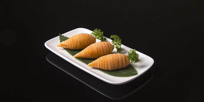 Carrot Shaped Fried Radish Pastry, Crystal Jade Jiang Nan, Wan Chai, Hong Kong
