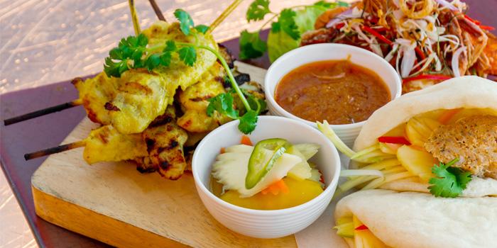 Chicken Satay from 360° Bar in Cherngtalay, Thalang, Phuket, Thailand
