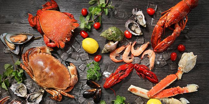 Chilled Crab and Seafood, Three on Canton, Tsim Sha Tsui, Hong Kong