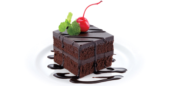 Chocolate Fudge Cake from Kenny Rogers Roasters in Cherngtalay, Thalang, Phuket, Thailand