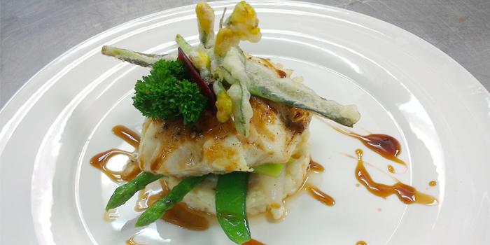Cod Fish Risotto & Teriyaki Sauce from White Box Restaurant in Patong, Kathu, Phuket, Thailand