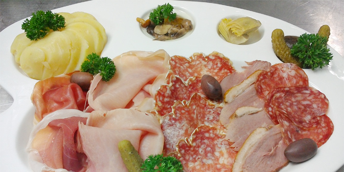 Cold Cut from White Box Restaurant in Patong, Kathu, Phuket, Thailand