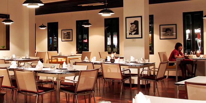 Dining Area of Toto Ristorante Italiano in Cherngtalay, Talang, Phuket, Thailand