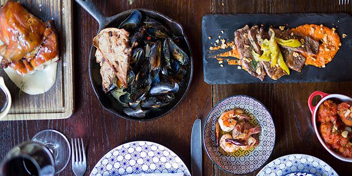 Dinner, Zafran, Central, Hong Kong