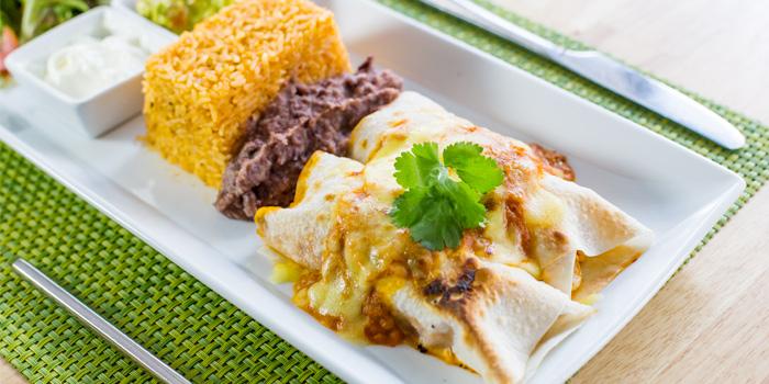Enchilada Beef from Cariocas Bistro & Lounge in Phuket Town, Phuket, Thailand