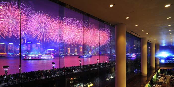 FireworksHarbourside, Tsim Sha Tsui, Hong Kong