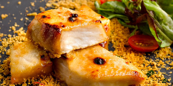 Baked Miso Cod from Flavours at Zhongshan Park in Balestier, Singapore