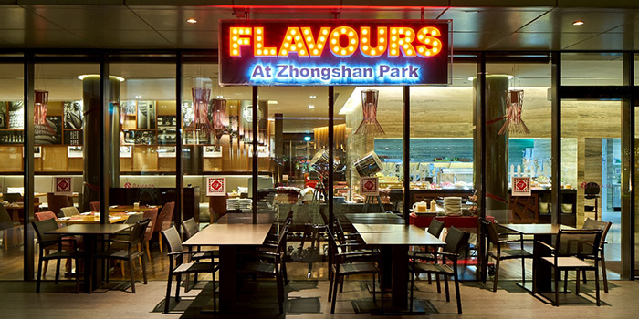 Exterior of Flavours at Zhongshan Park in Balestier, Singapore