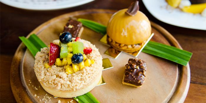 Fruit Tartlet and Dulche De Leche & Banana from Rustic-Eatery & Bar in Patong, Kathu, Phuket, Thailand