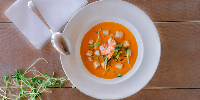 Gazpacho of Palm Seaside on Bangtao Beach, Phuket, Thailand