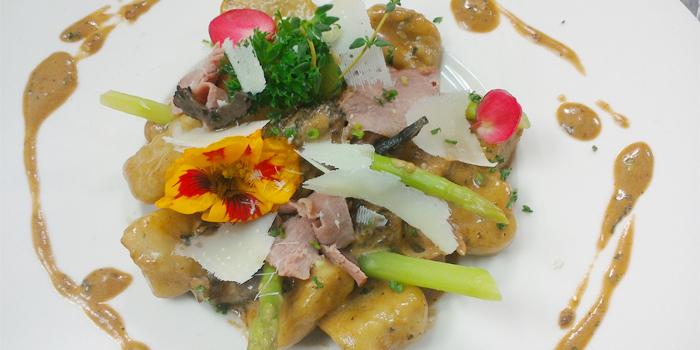 Gnocchi Potato & Truffle, Morille Sauce from White Box Restaurant in Patong, Kathu, Phuket, Thailand