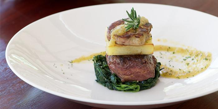 Grilled Beef Tenderloin with Foie Gras from Silk Restaurant and Bar in Kamala, Kathu, Phuket, Thailand
