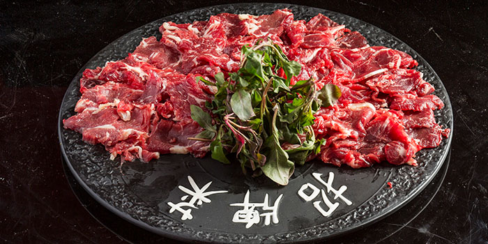 Hand Sliced Premium Beef, The Drunken Pot, Causeway Bay, Hong Kong