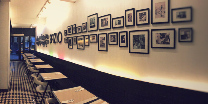 Interior of Sfizio in Sukhumvit Soi 21, Bangkok