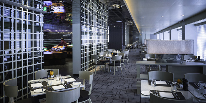 Interior of Three on Canton, Tsim Sha Tsui, Hong Kong