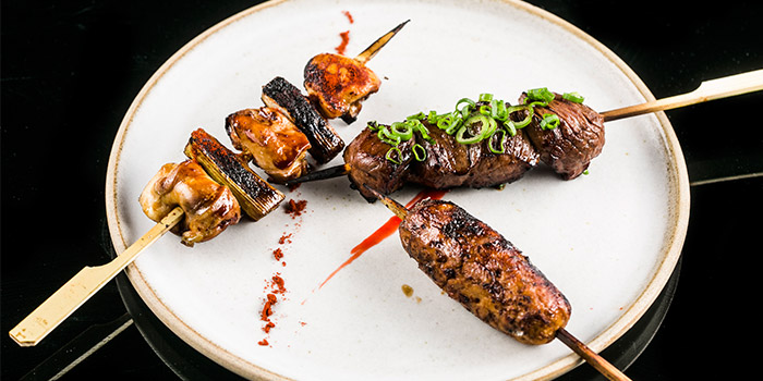Charcoal Meat from Le Binchotan in Tanjong Pagar, Singapore
