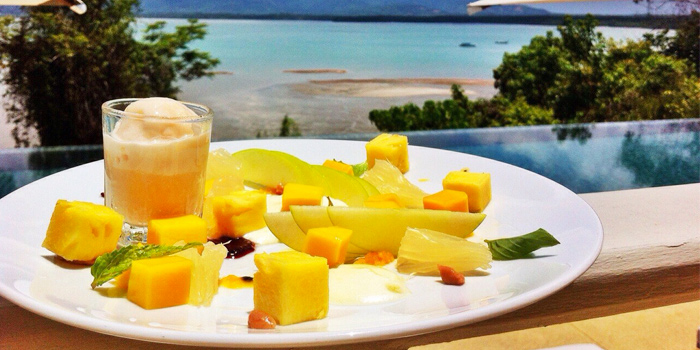 Mango Dessert from Breeze at Cape Yamu in Paklok, Thalang, Phuket, Thailand