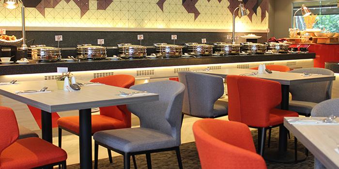Dining Area of Metropolitan YMCA Singapore in Bukit Timah, Singapore