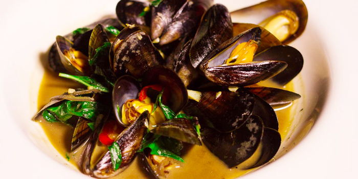 Mussels Thai Style from Taste Bar & Grill in Cherngtalay, Thalang, Phuket, Thailand