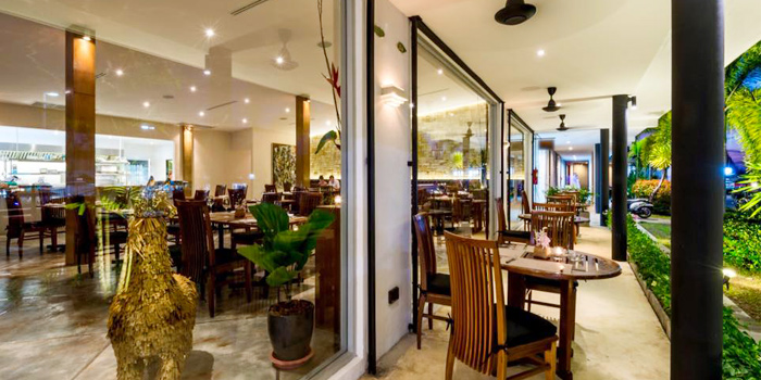 Outdoor Dining Area of Taste Bar & Grill in Cherngtalay, Thalang, Phuket, Thailand