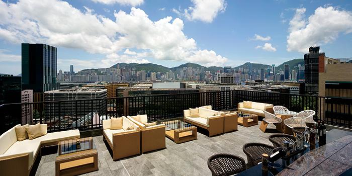 Outdoor of Uptop Bistro & Bar, Tsim Sha Tsui, Hong Kong